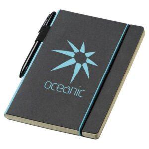 Gadget aziendali notebook con elastico personalizzati