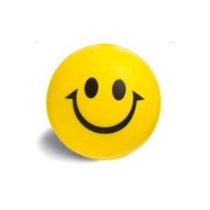 Gadget aziendali pallina smile antistress personalizzabili